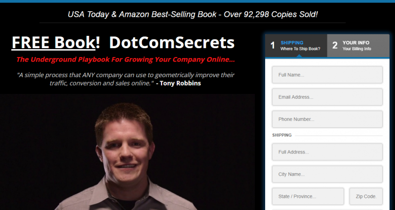 dotcomsecrets website