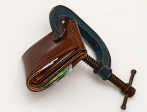 wallet on a budget