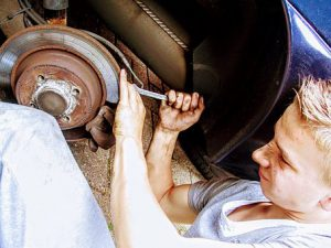 fixing your own car