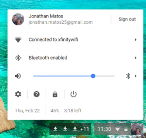 how to connect bluetooth on chromebook