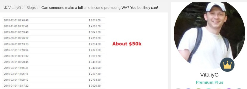 Income report blog post for making money online